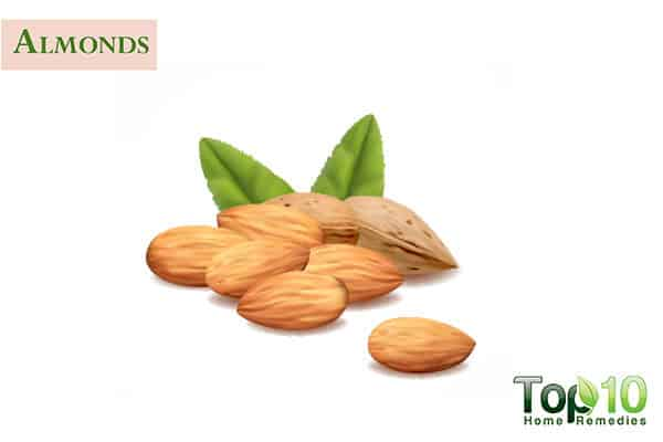 almond for dark knuckles