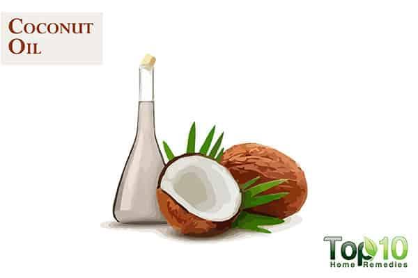 coconut oil for dark knuckles