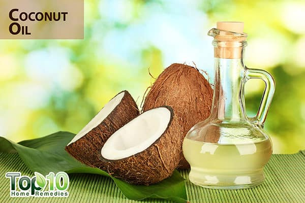 coconut oil to treat wounds in diabetics