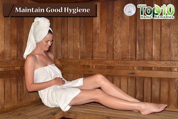 maintain good hygiene to prevent and treat yeast infections during pregnancy