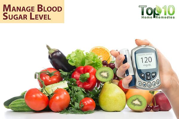 manage blood sugar for wound care in diabetes