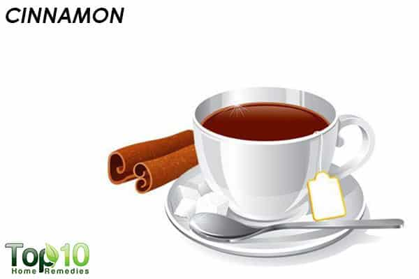 cinnamon to reduce a head cold