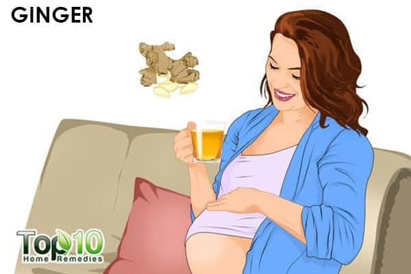 ginger for acidity during pregnancy