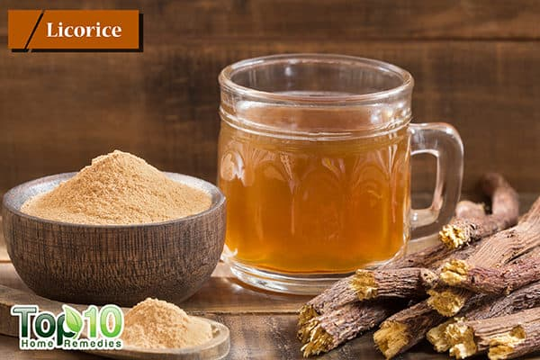 licorice to treat dry cough