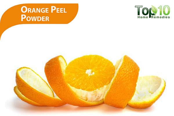 orange peel powder for dark upper lip