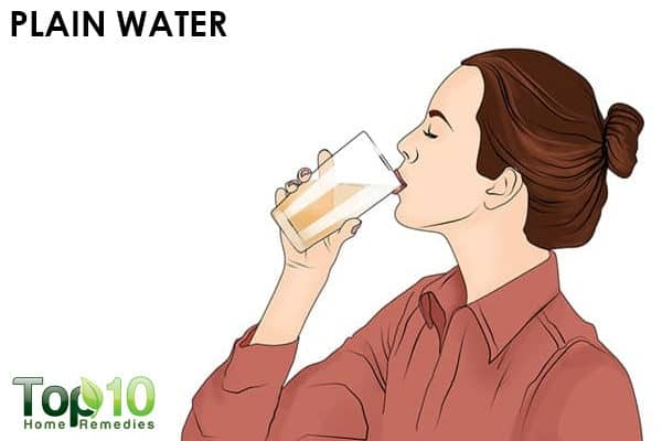 plain water to relieve acidity in pregnant women