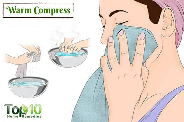 warm compress for TMJ