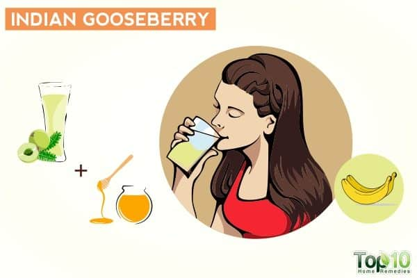 indian gooseberry to treat frequent urination
