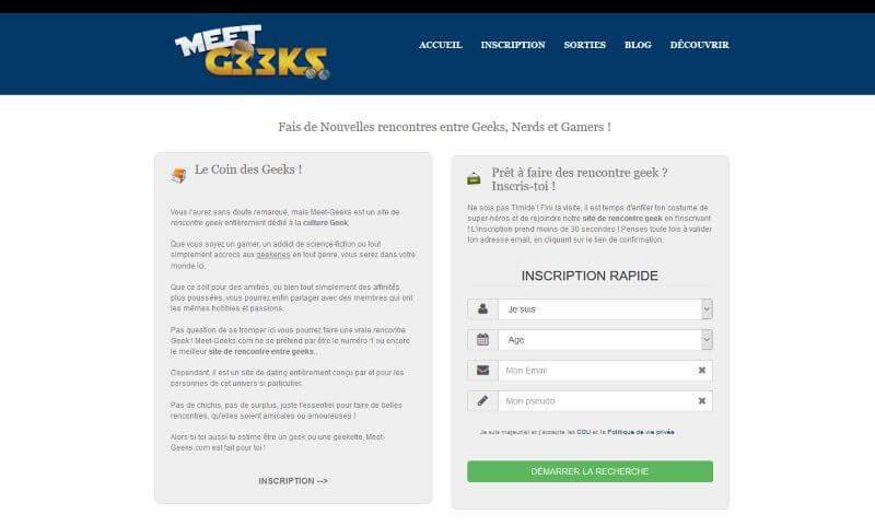 Meet-Geeks : Avis et Présentation