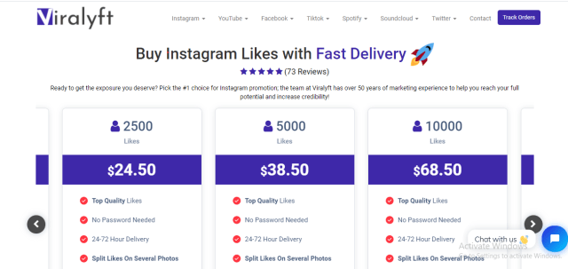 Buy Instagram Likes and Followers