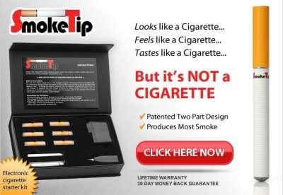 SmokeTip e cigarette