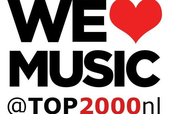 Top 2000 lijst 2016 via top2000nl.com