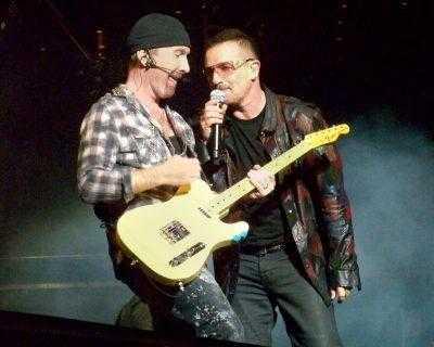 U2 in Top 2000 lijst 2016
