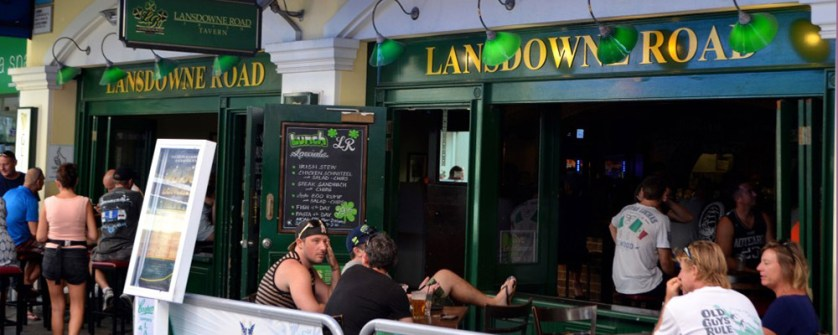 landsdown road irish pub