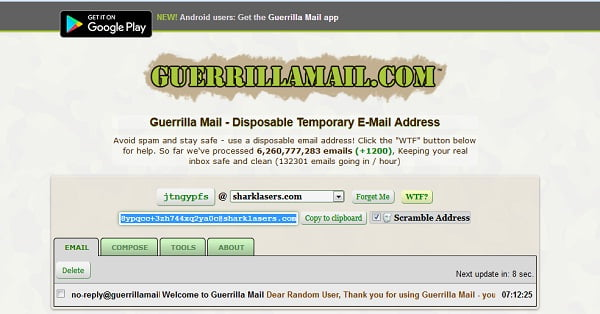 top 5 best disposable temporary fake email generator top5z