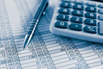 a pen and a calculator