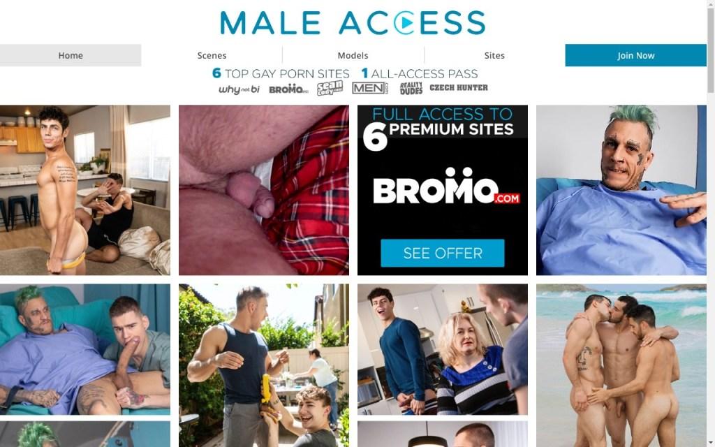 Maleaccess - Top Premium Gay Porn Sites