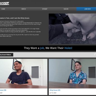Dirtyscout - Top Premium Gay Porn Sites