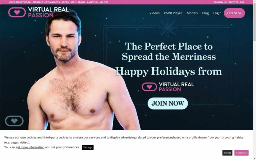Virtual Real Passion - top Gay Vr Porn Sites List