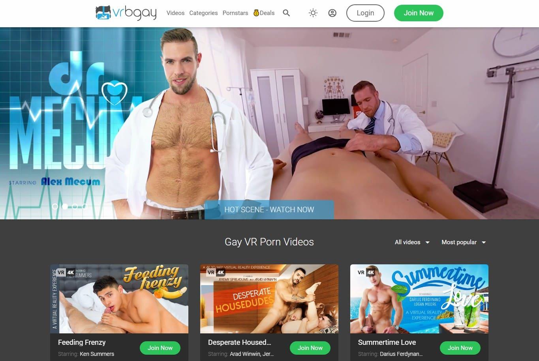 Vrbgay - top Gay Vr Porn Sites List