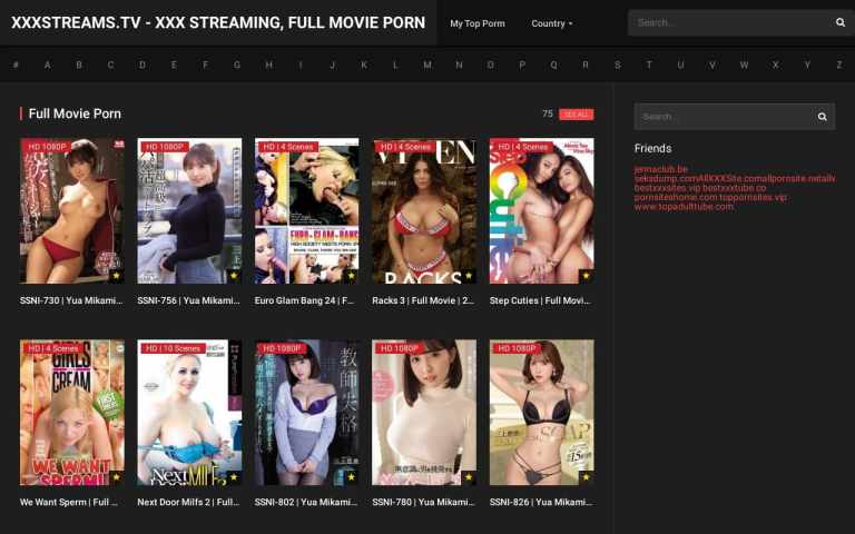 xxxstreams - top Full Movie Porn Sites List