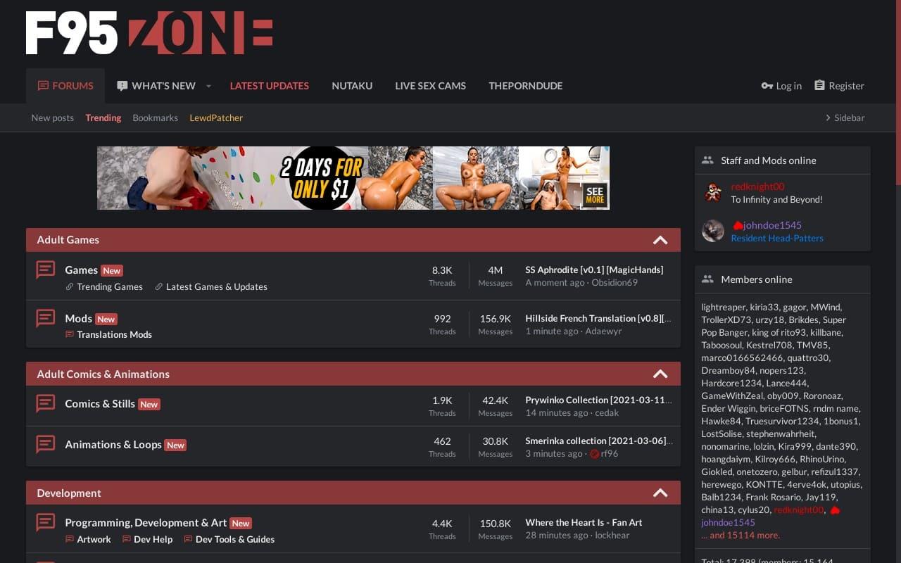 F95Zone - top Porn Forums List