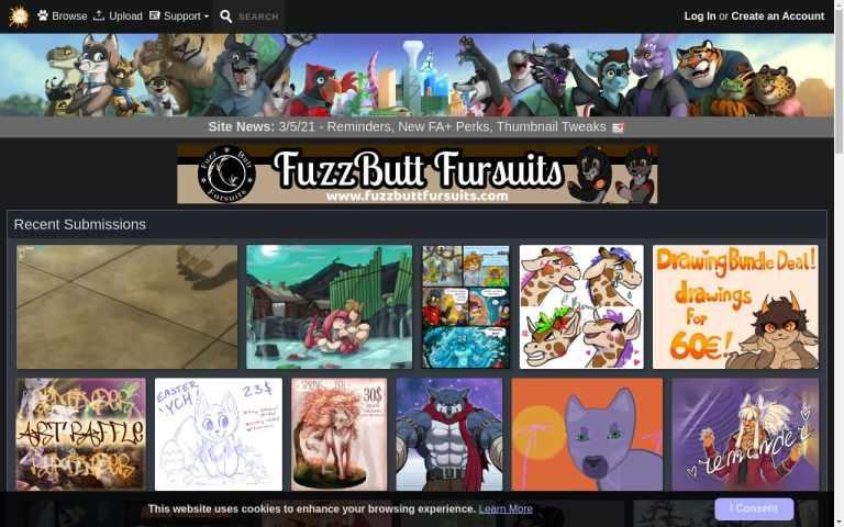 Furaffinity - top Hentai Porn Sites List