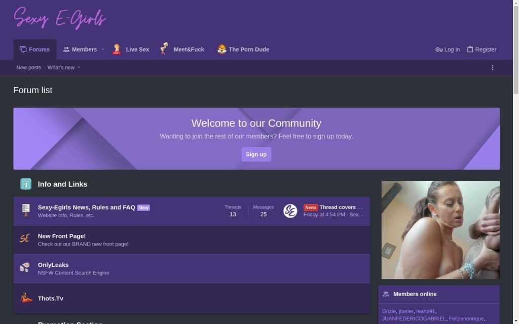Sexy-Egirls - top Porn Forums List