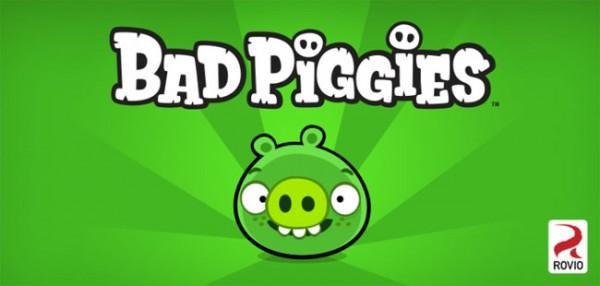 bad piggies android 600x286 Bad Piggies, ahora los cerdos matan a los pájaros