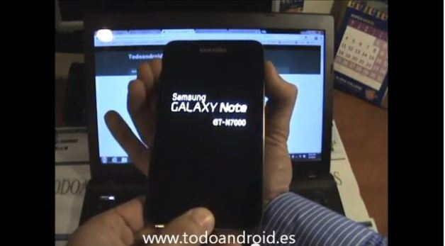 restablecer galaxy note