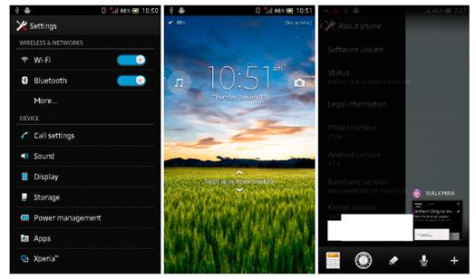 Todas las novedades de Sony Xperia respecto a la actualización de Android Jelly Bean 4.1.2