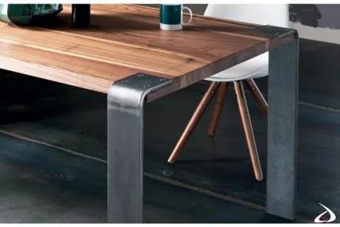 gambe per tavolo legno in noce nero di particolare bellezza tlw100. Siviglia Table With Glass Or Iron Legs Toparredi