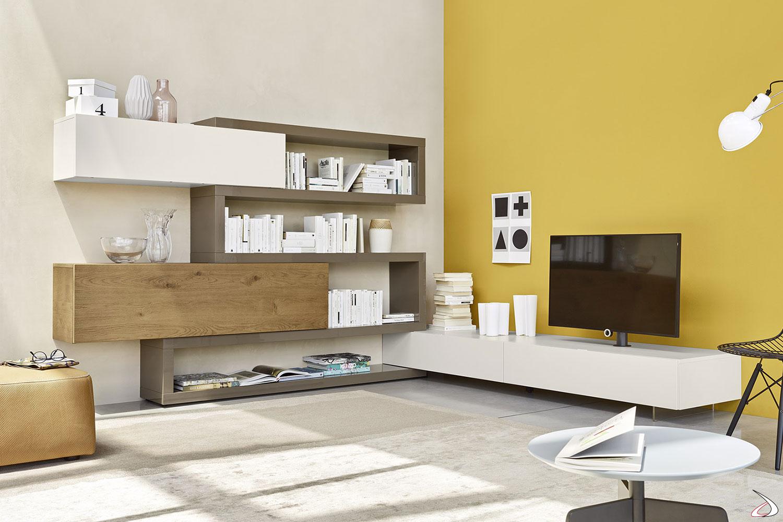 Scopri subito migliaia di annunci di privati e aziende. Corner Living Room With Adjustable Tv Column Mauro Toparredi