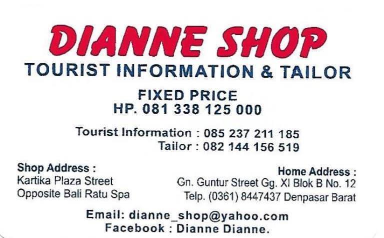 Dianne Shop