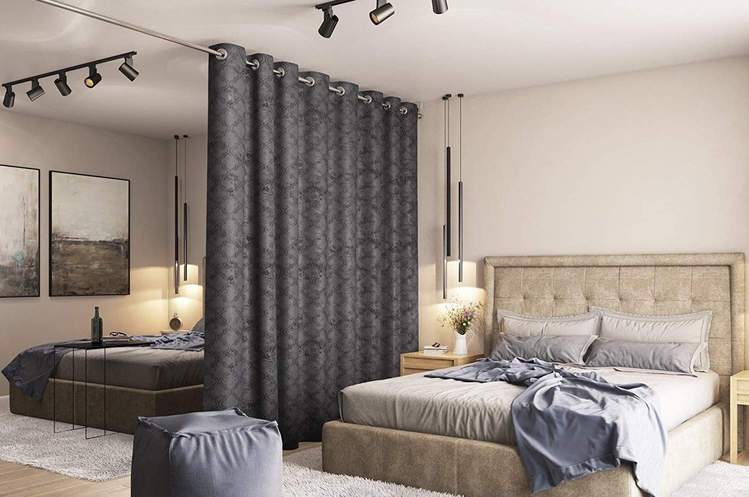 room divider curtains in 2021 reviews
