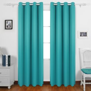 #10. Deconovo Solid Thermal Insulated Blackout Curtains