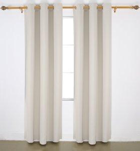 #5. Deconovo blackout curtains
