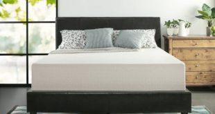 #4. Zinus memory foam 12'' tea mattress-Queen