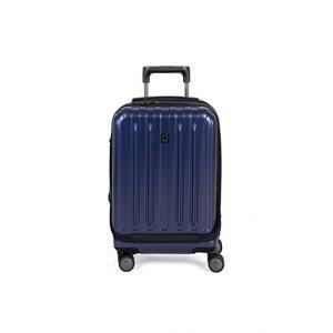 #7. Delsey luggage helium titanium 19''
