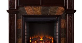 #2. Cartwright Convertible Electric Fireplace - Classic Espresso