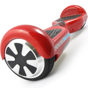 #4. Powerboard by Hoverboard two Wheel Self-Balancing Hoverboard (Red)
