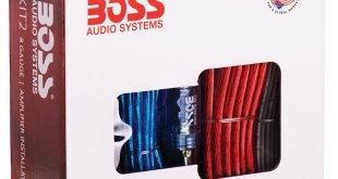 1. Boss Audio KIT2 8 Gauge Amplifier Installation Kit