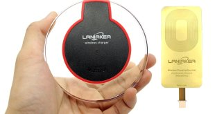4. LANIAKEA Qi Wireless Charging System for iPhone 6 and 7