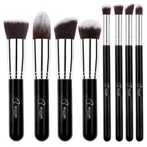 4. Bestope Makeup Brushes 8 Piece Brush Set
