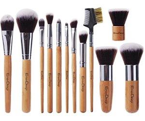 5. EmaxDesign 12 Pcs Makeup Brush Set