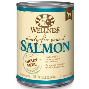 6. Wellness 95% Natural Wet Canned Dog Food