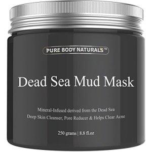 2. Pure Body Naturals Dead Sea Mud Mask