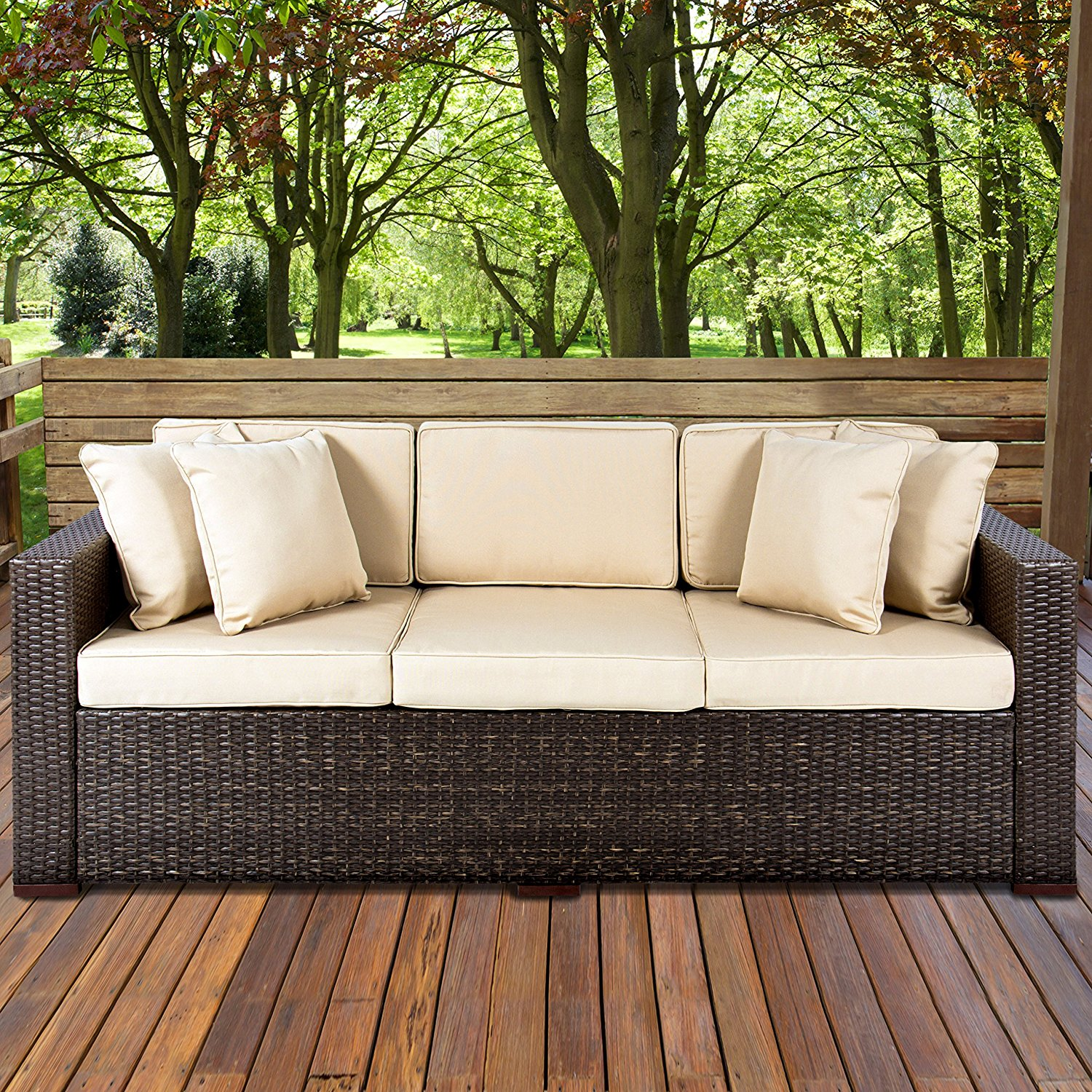 Top 10 Best Patio Sofas in 2020 - Top Best Pro Review on Outdoor Loveseat Sets  id=60104