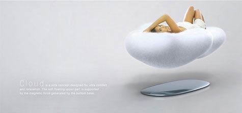Cloud: Magnetic Floating Sofa » image 2