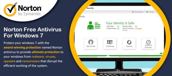 Norton Free Antivirus for Windows 7